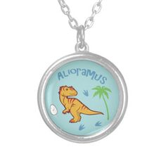 Cute Alioramus Custom Jewelry