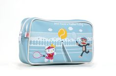 I own & love this Paul Frank and Hello Kitty cosmetic bag.
