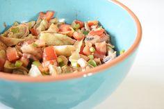 Pasta Salad, Cantaloupe, Potato Salad, Food Porn, Food And Drink, Potatoes, Fruit, Ethnic Recipes, Diy Blog