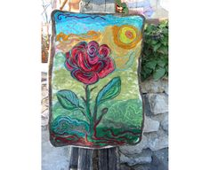 Felt TapestryFelt PictureFelt TapestryWall hangingSunny by RumiWay