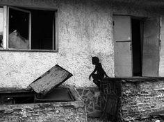 Child ghosts of Chernobyl. Pripyat, Ukraine.