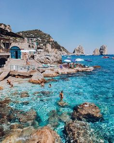 Once you are in Positano you can visit Capri island for the day. You can get a ferry from the port directly to Capri, you'll be there in less them 30 minutes. Check our offers for 2020 summer! Dream Vacations, Vacation Spots, Italy Vacation, Oh The Places You'll Go, Places To Visit, Amalfi Coast Italy, Sorrento Italy, Naples Italy, Amalfi Coast Beaches