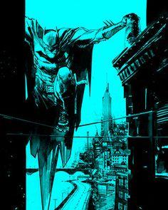 Sean Gordon Murphy does amazing Batman art.