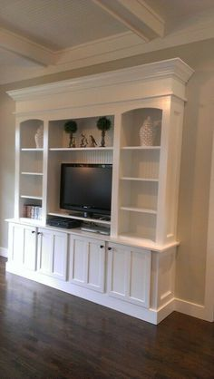 How to build an entertainment wall unit how to build an entertainment wall unit corner built . how to build an entertainment wall unit Diy Furniture Entertainment Center, Entertainment Center Wall Unit, Entertainment Ideas, Entertainment Center Makeover, Entertainment Products, Living Room Built Ins, Living Rooms, Muebles Living, Ikea Kids