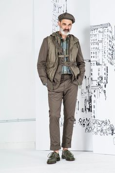 See the complete Engineered Garments Spring 2017 Menswear collection.