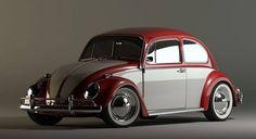 1973 VW Beetle Slammed