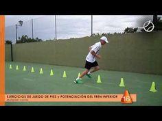 PÁDEL - JUEGO DE PIES - CONOS - Coordinación y agilidad #01 - YouTube