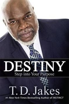 Destiny TD Jakes.I want to read this book now! Chills....