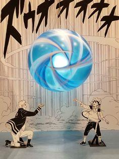 Naruto and Boruto Rasengan Official Manga Art ❤️❤️❤️