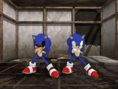 Gangnam Style (MMD)~Sonic Exe & Sonic