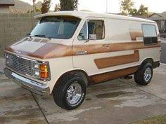 custom conversion van   dodge . plymouth.