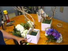 How to Make and Decorate Manzanita Branch Centerpieces - YouTube                                                                                                                                                                                 More