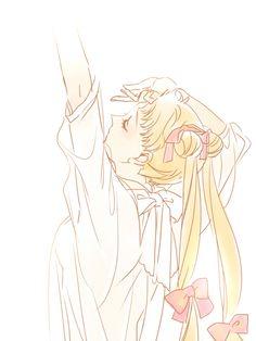 Usagi Sailor Moon art ❤️ cute ❤️