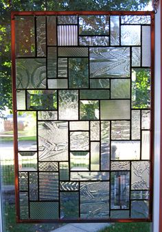 Glass Shelves For Bar Leaded Glass, Stained Glass Windows, Mosaic Glass, Glass Art, Modern Stained Glass, Stained Glass Patterns, Glass Front Door, Glass Door, Leadlight Windows
