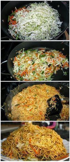 Easy Vegetarian Chowmein Recipe