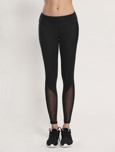 SHARE & Get it FREE   Bodycon Yoga Voile Leggings - BlackFor Fashion Lovers only:80,000+ Items • New Arrivals Daily Join Zaful: Get YOUR $50 NOW!