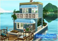 Sims 3 Finds - Ocean Breeze House at NY Girl Sims 3
