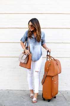 Chic traveling luggage – Just Trendy Girls