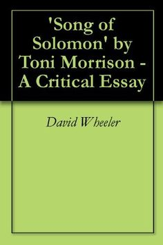 Critical essay on song of solomon