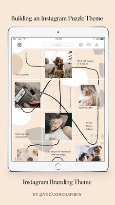 Easily create 30 Posts for your feed wi Best Instagram Feeds, Instagram Feed Layout, Instagram Collage, Instagram Grid, Cool Instagram, Instagram Post Template, Instagram Design, Instagram Story, Instagram Posts