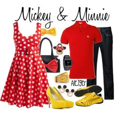 Mickey & Minnie!