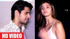 Alia Bhatt Answered She Loves Sidharth Malhotra  In This Exclusive Video