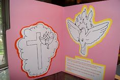 Pentecost file folder and coloring pages
