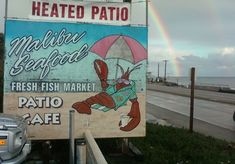 Locals and surfers flock to this fish market and patio restaurant for fresh, daily selections fried or grilled on site. Try the fish tacos, creamy clam chowder in a bread bowl, or steamed clams, then dart across the Pacific Coast Highway to enjoy a day at the beach.