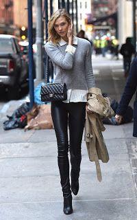 Fashionandlifestyle: De leren broek en hoe te combineren