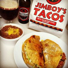 perfect Saturday night in... If you haven't had a Jimboy's taco you have not yet lived!!!