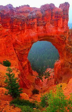 Arch at Bryce Canyon National Park