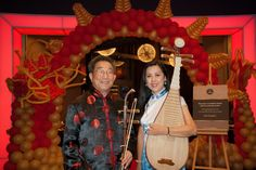 Photo Courtesy of Aspers Casino. Photo Taken During their Chinese Moon Festival. Music for London provided the Chinese Ensemble for their event.