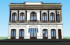Edificio piave perteneciente a una familia italiana, llamado así en honor a una batalla descisiva durante la primera guerra mundial donde los italianos se vieron ganadores reposa sobre las calles del centro histórico de la ciudad de Barranquilla.