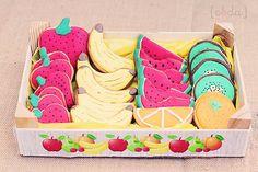 "Festa de Aniversário : tema de frutas !      Esta festa temática FRUTAS ou "" FIESTA DE FRUTAS "" foi apresentada por Beatriz de Con Botas De ..."