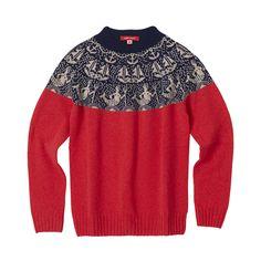 Knitwear – Merman sweater red