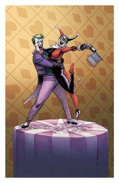 Joker Harley cake topper 2011 by *ChrisMoreno on deviantART