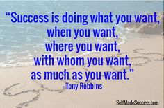 Inspiring success quote by Tony Robbins #inspiration #quote http://selfmadesuccess.com