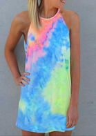 Tie Dye Sleeveless O-Neck Mini Dress . . Shop for cute dresses, find discounts, coupon codes, promo on dresses! #cheapdresses #fashiondiscount #cutedress #dresses #outfits Modest Dresses, Cheap Dresses, Cute Dresses, Casual Dresses, Beautiful Dresses, Halter Mini Dress, White Mini Dress, Long Sleeve Mini Dress, Shirts & Tops
