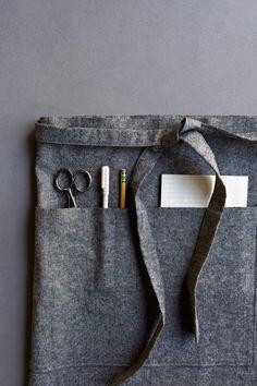 Shop Apron Excellent pattern & tutorial