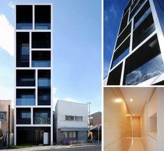 Narrow building [tokyo] by MMA Design