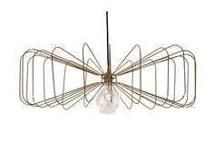 Metal pendant lamp CRAWFORD by Aromas del Campo design Pepe Fornas