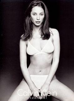 Christy Turlington for Calvin Klein