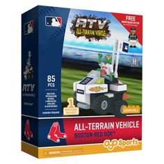 MLB Boston Red Sox Oyo Atv Toy Vehicle - 85pcs