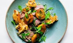 Salty ham, sweet apricots and fresh fronds of dill – weeknight perfection, says Nigel Slater Dill Recipes, Salad Recipes, Nigel Slater, World Recipes, The Guardian, Tandoori Chicken, Family Meals, Ham, Food To Make