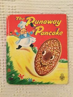 The Runaway Pancake.my fav book! The Runaway Pancake a Whitman Tell-a-Tale Book. Pictures by Ben Williams Whitman Publishing Company, 1956 28 Pp. Childhood Toys, Childhood Memories, Sweet Memories, Claude Monet, Kitsch, Photo Vintage, Vintage Children's Books, Vintage Stuff, Vintage Hats