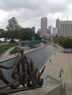 White River State Park in Indianapolis :]