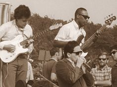 The Paul Butterfield Blues Band at Newport Folk, 1965