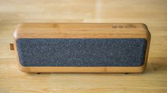 Oluv's Gadgets: Review: AudioXperts EVA BLU - the portable Bluetooth speaker with wooden flavor