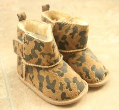 Baby/ Infant boots by MakaiBoutique on Etsy, $9.99