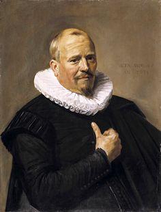 https://flic.kr/p/x1Aw73 | Portrait of a Man | 1634. Oil on oak panel. 73,3 x 56,2 cm. Timken Museum of Art, San Diego.